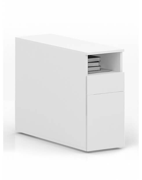 MARK Desk-Height Handleless Pedestal