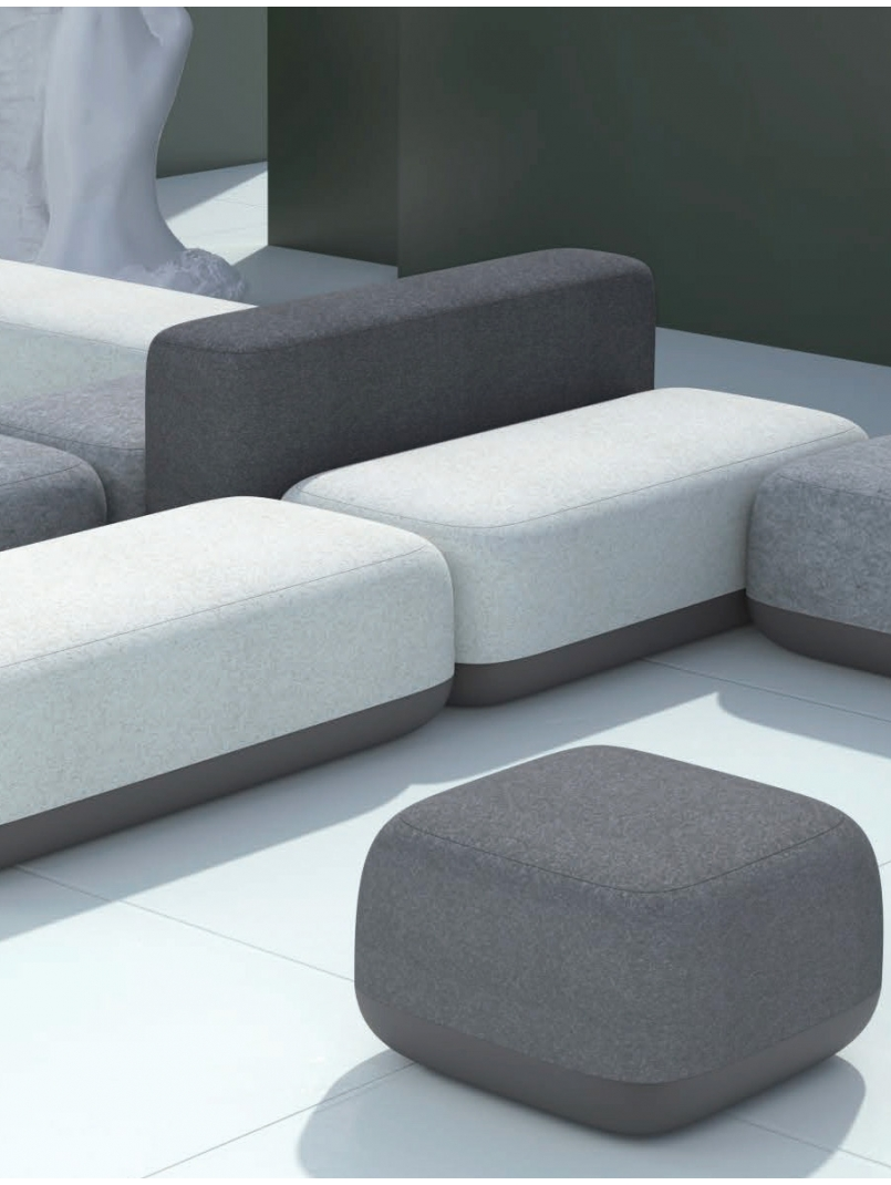 City By Vic Contemporary Modular Sofa Workspace Furniture