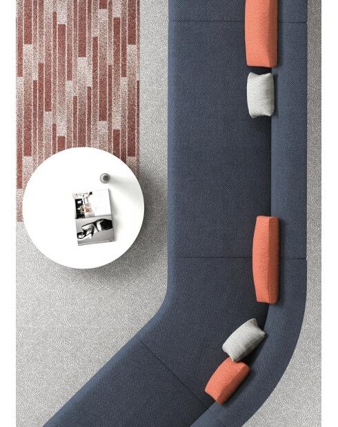 Kas Modular Minimalist Low Back Sofa