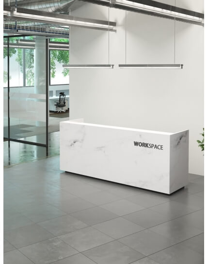 Olympus Marble Reception Desk