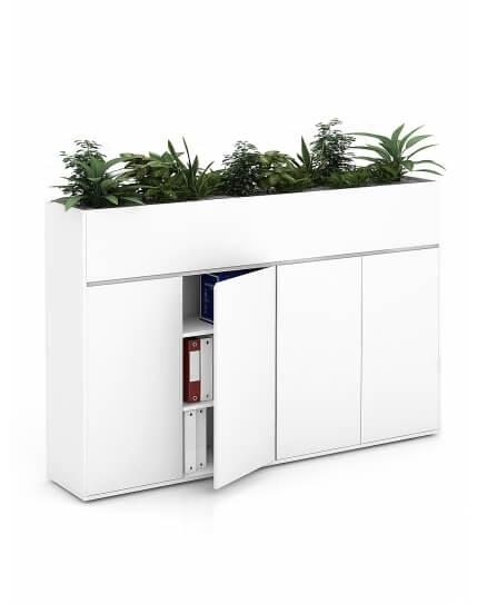 Vetrina ECO Planter Top Handleless Cabinet