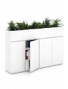 Vetrina ECO Planter Top Handleless Cabinet