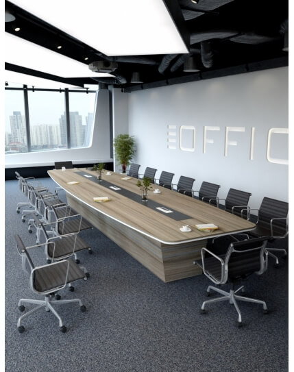 Shorewood Bold Custom Made Meeting Table