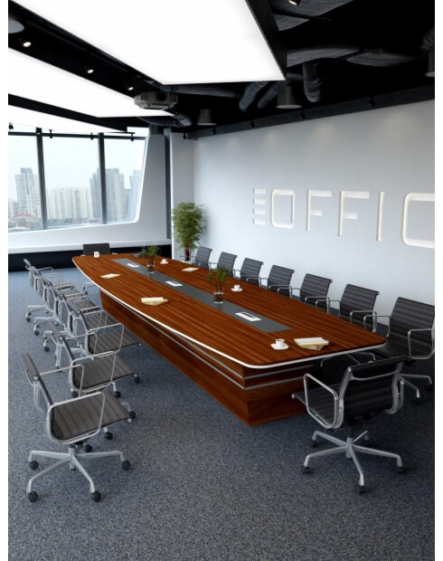 Tobacco Bold Custom Made Meeting Table