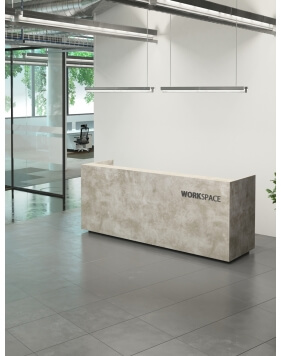 Nirvana Custom Made Reception Desk