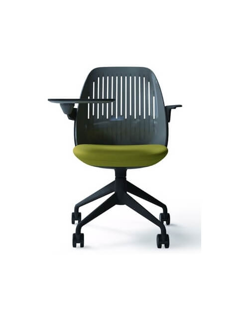 Green- Cooper Minimalist Educational Chair with Writing Pad