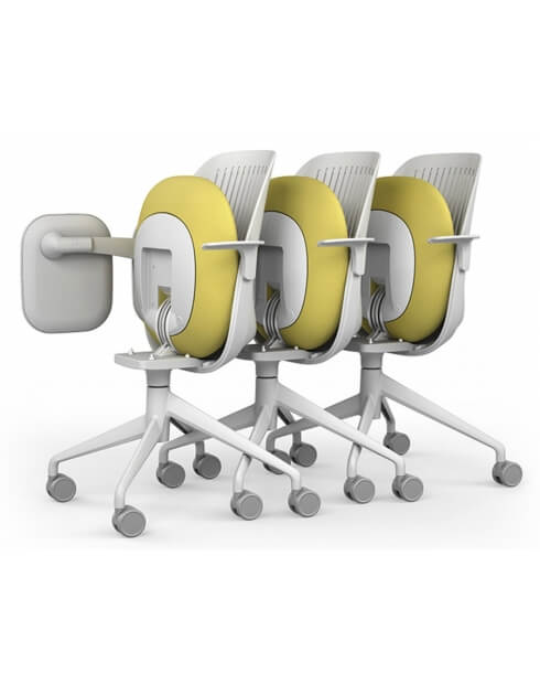 Cooper Foldable Stackable Training Chair Educations Chair