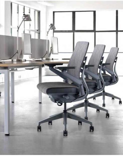 Ergoman 360 High Back Ergonomic Mesh Chair Workspace