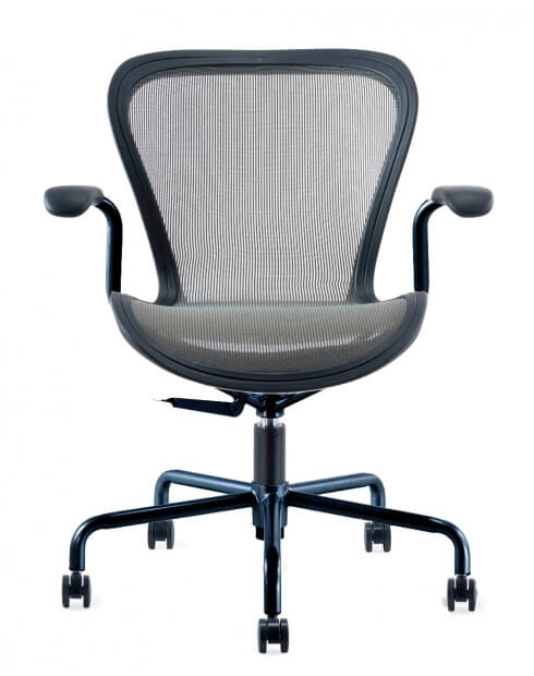Front - Airwave Minimalist Mesh Swivel Task Chair