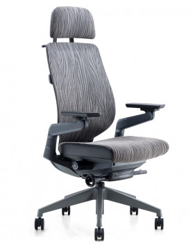 Ergoman 360 High Back Ergonomic Chair - Fabric