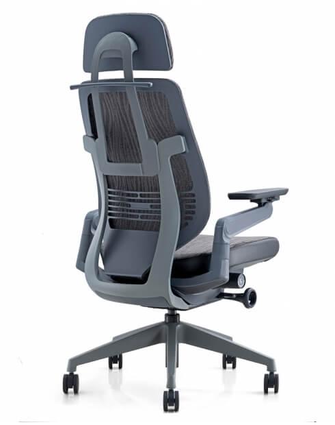 Ergoman 360 High Back Ergonomic Chair - Back