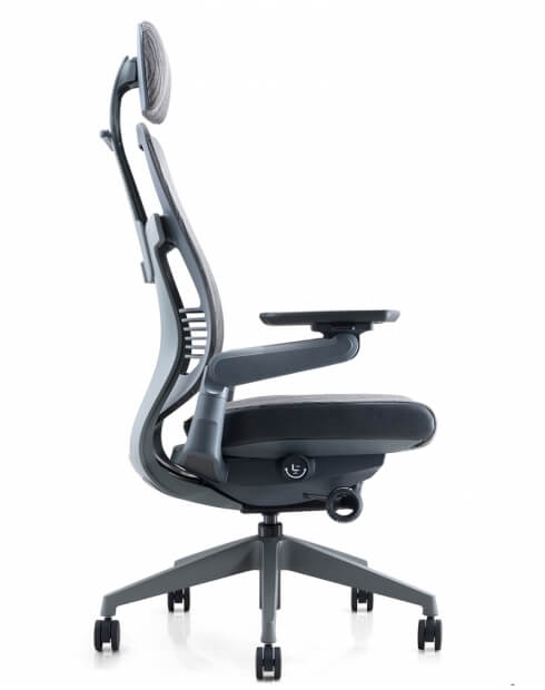Ergoman 360 High Back Ergonomic Chair - Side
