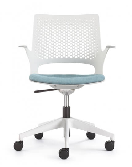 Aperol White Designer Task Chair