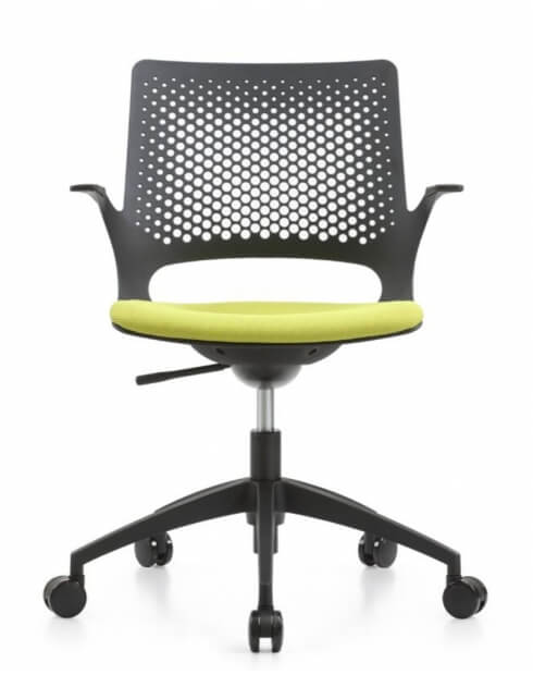 Aperol Black Designer Task Chair