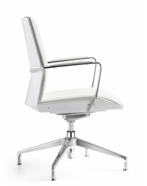 Side - Allen Diamond Visitor Chair
