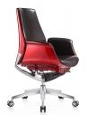 Allen Rose Genuine Leather Medium Back Chair