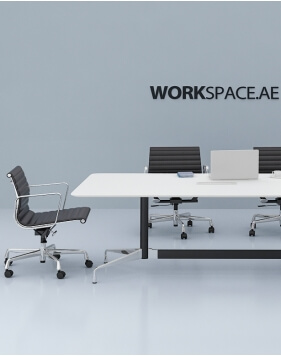 Eames Style Designer Rectangular Meeting Table