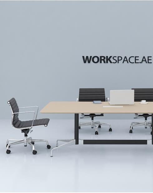 Eames Style Designer Rectangular Meeting Table