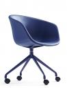 Frey Blue Contemporary Designer Chair