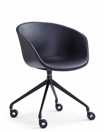 Frey Black Contemporary Designer Chair