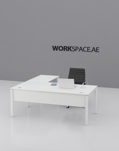 Cuadro L-Shape Executive Desk