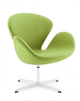 Green Arne Jacobsen swan