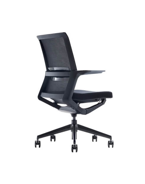Wing Black Modern Mesh Chair