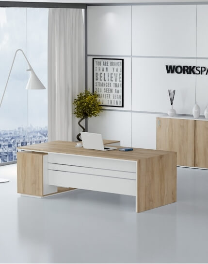 Levina L-Shape Desk