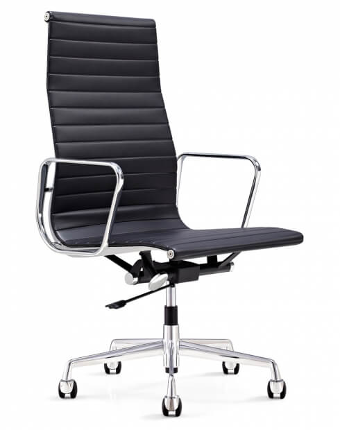 EamesClassic Aluminium High Back Executive Chair