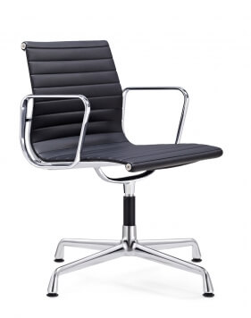 EamesClassic Aluminium Visitor Chair