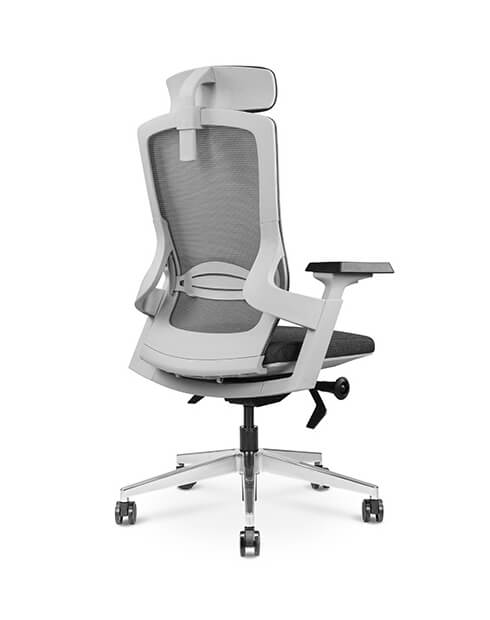 Back-Marshal White Chair