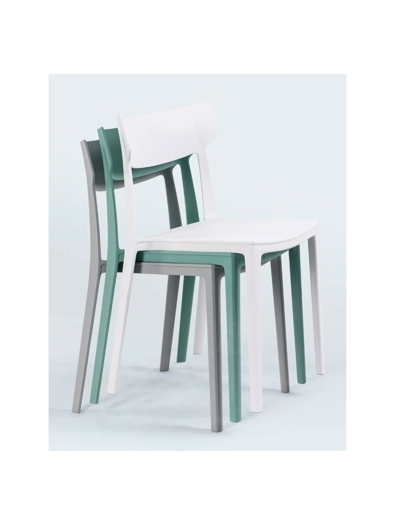 Spigolo Modern Stackable Dining Chair Workspace Office