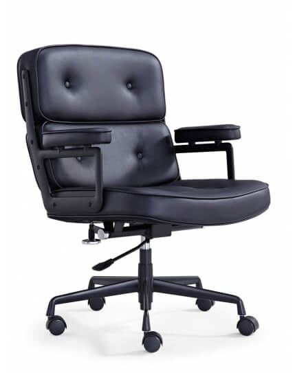 Eames Style Classic Leather Executive Chair