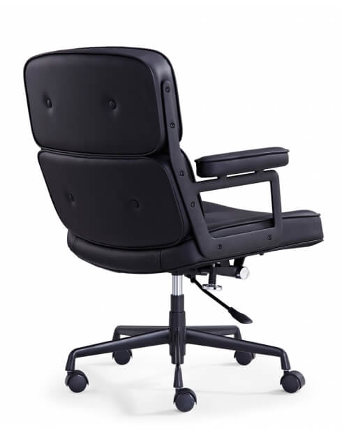 Back-Eames Style Classic Leather Executive Chair