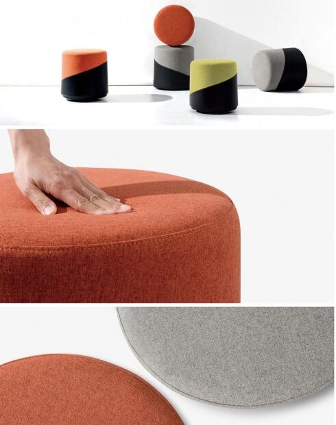 YO! Round Shape Sofa Stool