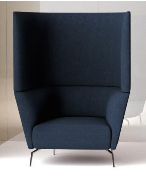 Kas Single Seater Acoustic High Back Sofa
