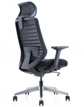 Sparta High Back Black Frame Ergonomic Mesh Chair