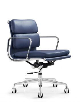 Main - Eames Style Royal Blue Chair