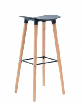 Main Black - Title Modern Bar Stool