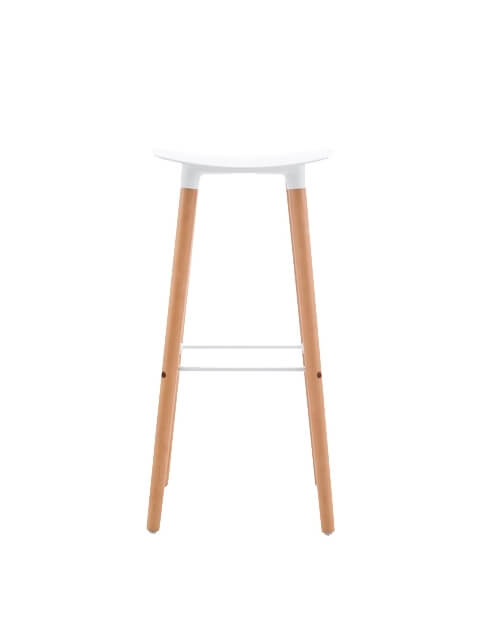 Side Black - Title Modern Bar Stool