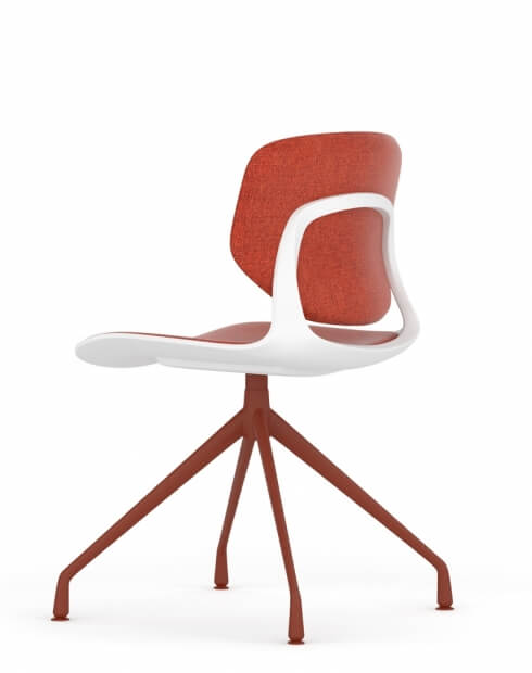 Melody Star Base Multi-Purpose Chair Red