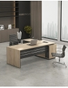Levina L-Shape Manager Desk