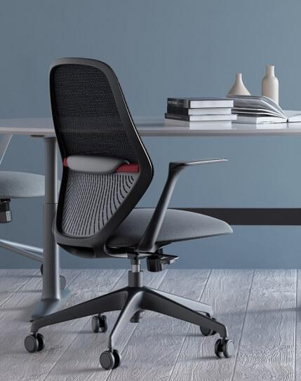 Interior - Time Black Minimalist Task Chair