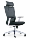 Mann White Ergonomic Executive Office Chair