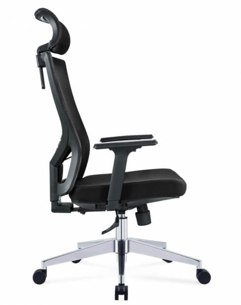Side - Mann Ergonomic Executive Office Chair