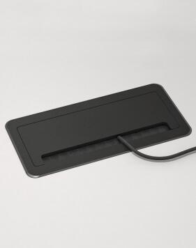 Fliptop Aluminium Socket Box
