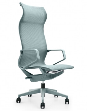 Airwave Ice Blue Designer Mesh Chair