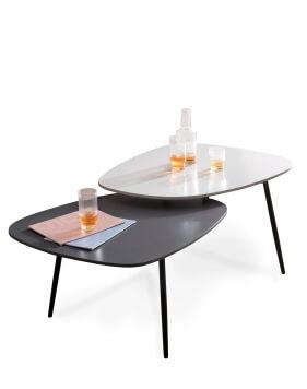 Nerro Two Tier Designer Coffee Table