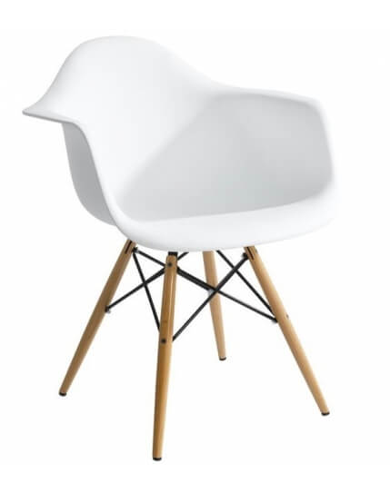 Panton Dsw Eames Style Dining Side