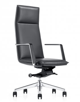 Pilot Genuine Italian Leather Executive Chair